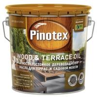Pinotex Wood & Terrace Oil (Пинотекс Вуд & Террас Ойл) колеровка